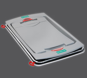 Manual roof hatch